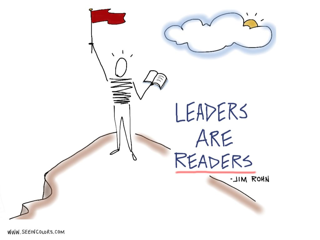 Read any good books lately?  Leaders are Readers – Jim Rohn