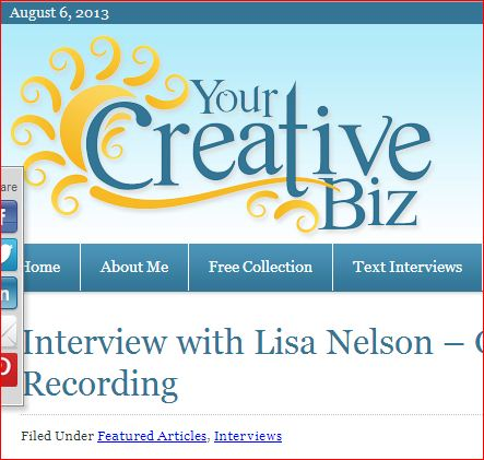 My Creative Business – Special Interview