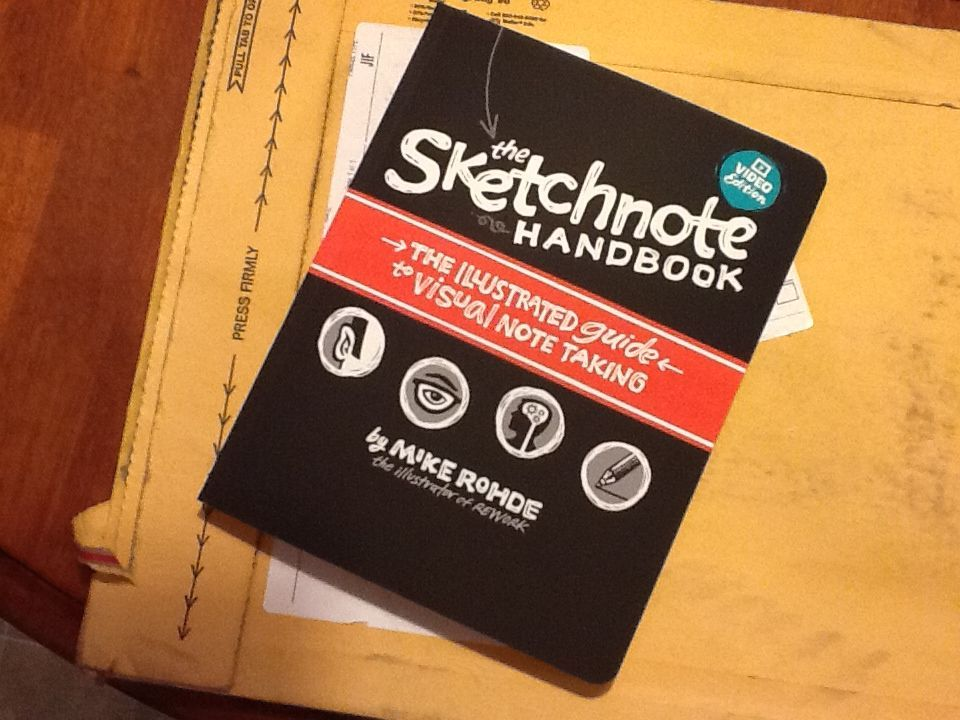 My Review of The Sketchnote Handbook by Mike Rohde