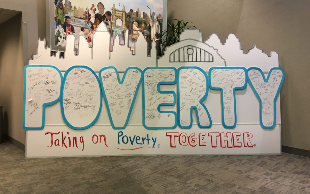 #CincyTakesOnPoverty with Powerful Visuals