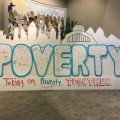 #cincytakesonpoverty graphic recording and visual maps