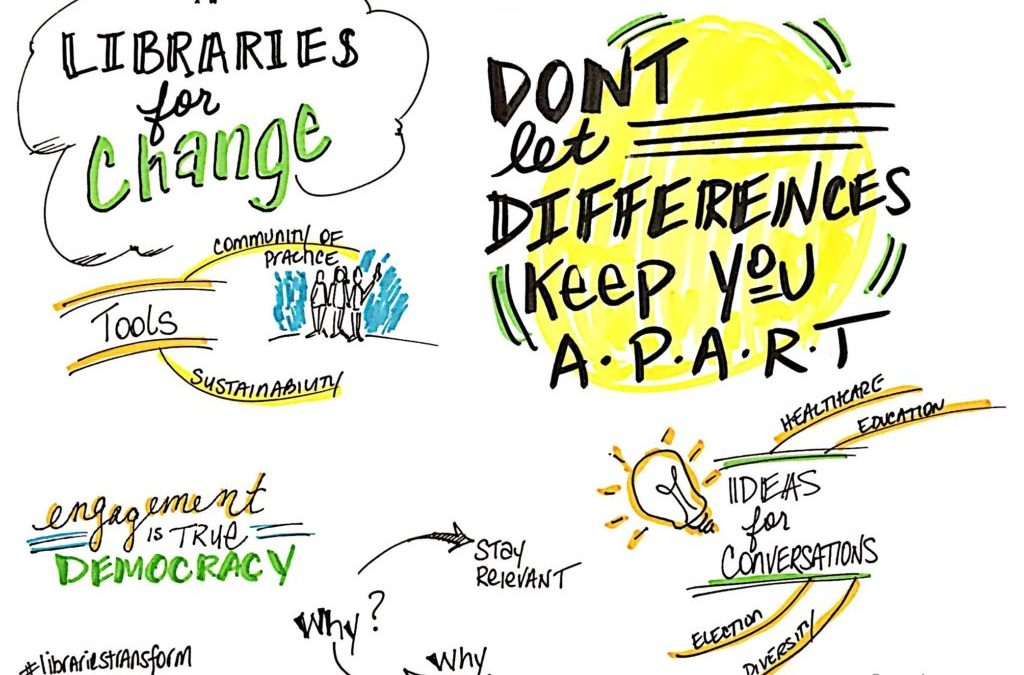 Libraries are the New Hub for Dialogue Facilitation #LibrariesTransform